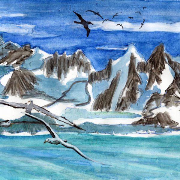 Antarctica. Antarctic Peninsula