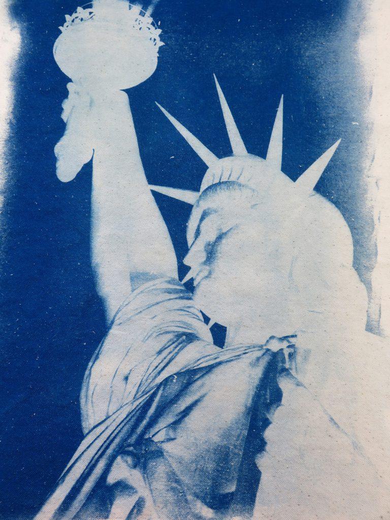 Cyanotype. Liberty