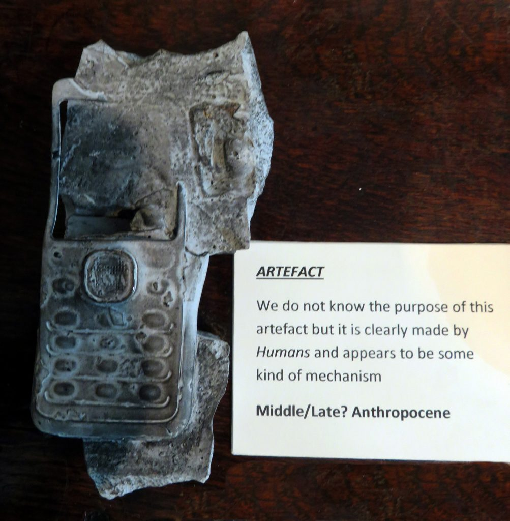 Fossils of the Anthropocene