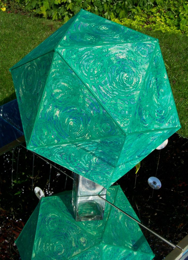 Platonic Solids Water