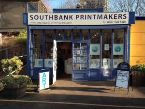 Southbank Printmakers Shop